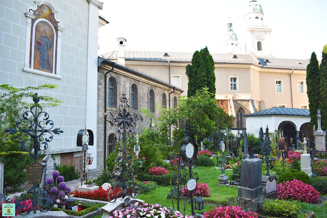 Cementerio Archiabadía de San Pedro en Salzburg