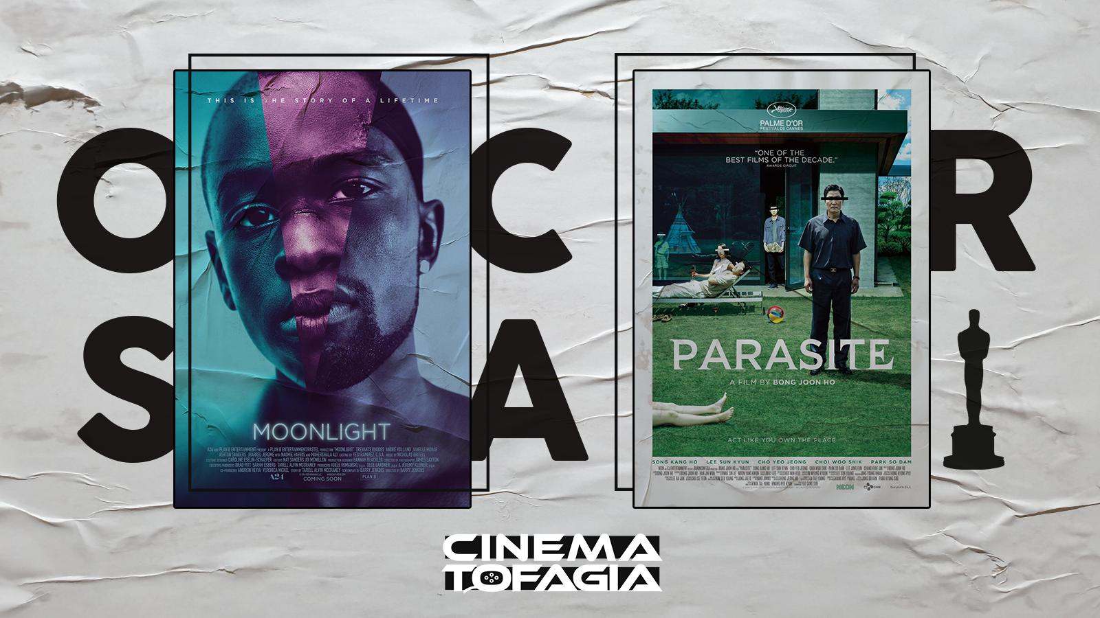 """Várias similaridades nas temporadas de """"Moonlight"""" e """"Parasita"""" nos mostram que tudo pode acontecer na noite do Oscar 2020"""