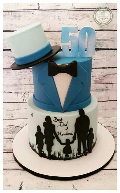 Sensational Best 50Th Birthday Cake Ideas For Men Women Of 2020 Personalised Birthday Cards Veneteletsinfo