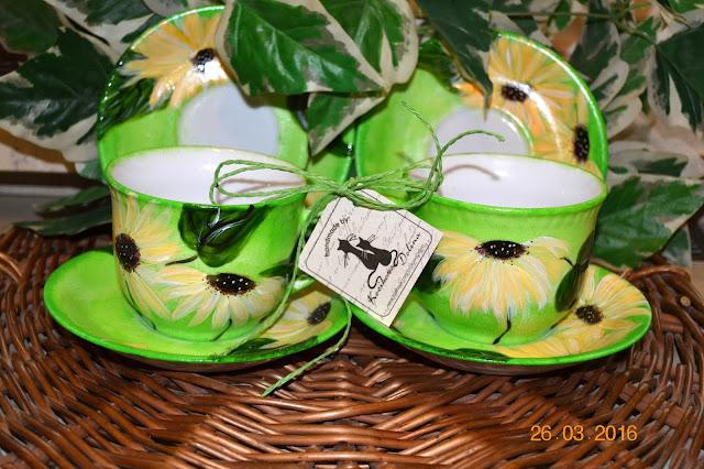 Szukanie możliwości a nie wymówek i limonkowy serwis z porcelany