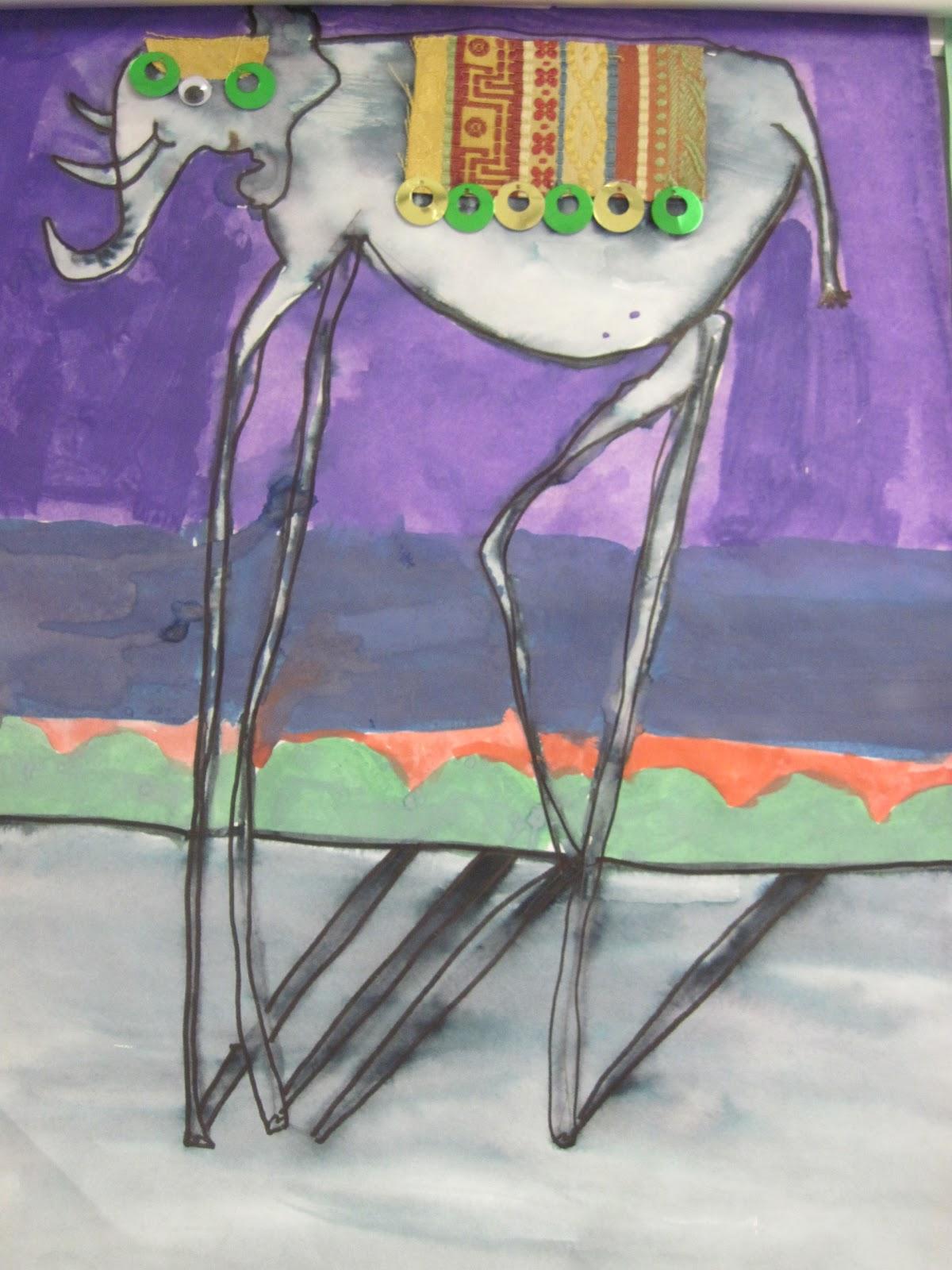 Chumleyscobey Art Room Dali S Long Legged Elephants
