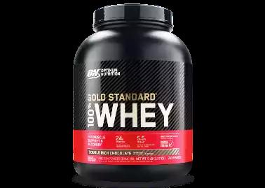 Optimum Nutrition(ON) 100% Whey Gold Standard.