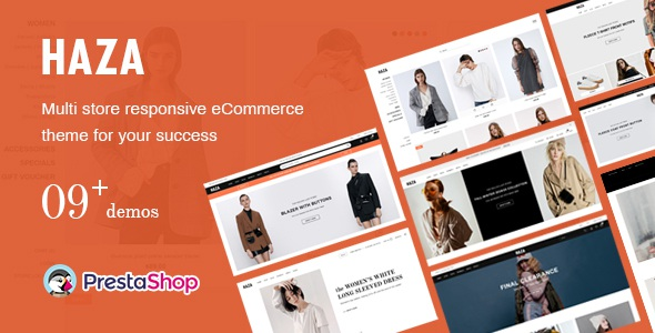 Multipurpose Fashion Prestashop Theme