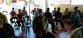 Babinsa Desa Blingoh Hadiri Penguatan Pelaksanaan Intervensi Dan Sensitif Desa Lokus.