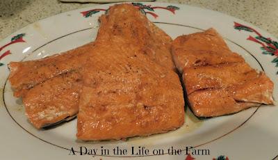 Pineapple Terriyaki Salmon
