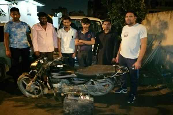 crime-branch-sector-85-arrested-4-accused-looted-state-bank-of-india
