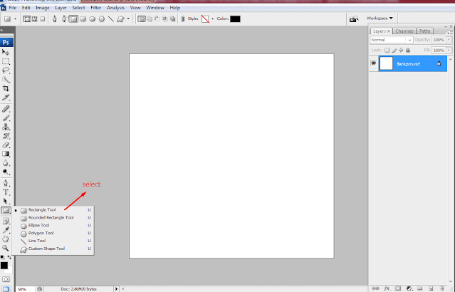 rectangle mode