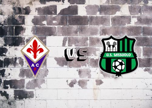 Fiorentina vs Sassuolo  Resumen