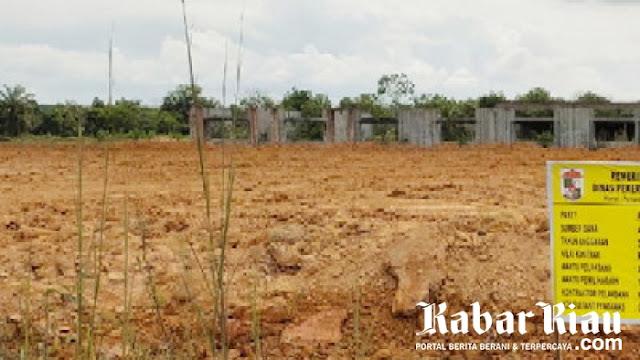 Pengadaan Tanah Timbun Pembangunan MTQ di Pelalawan diduga di Korupsi