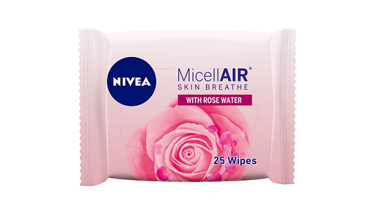 Nivea Micellair Skin Breathe Micellar Rose Water Wipes