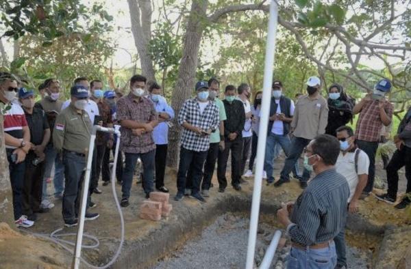 Wabub Bintan Apresiasi Pembangunan Sanitasi dan Air Bersih