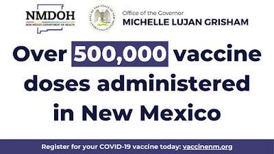 500K NM Vaccinations