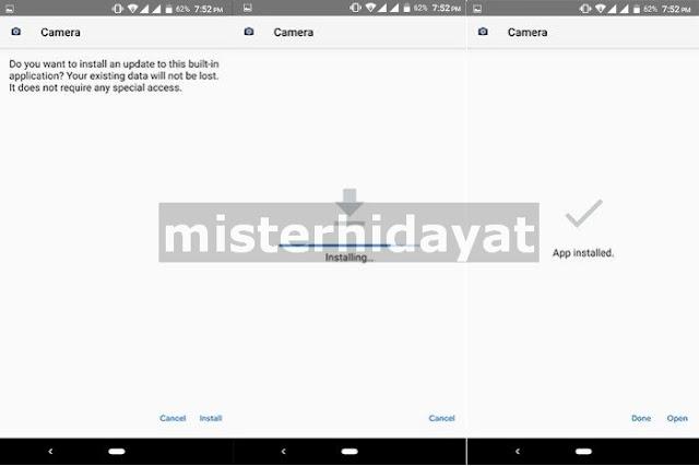 Cara Instal GCam (Google Camera) di Samsung A80