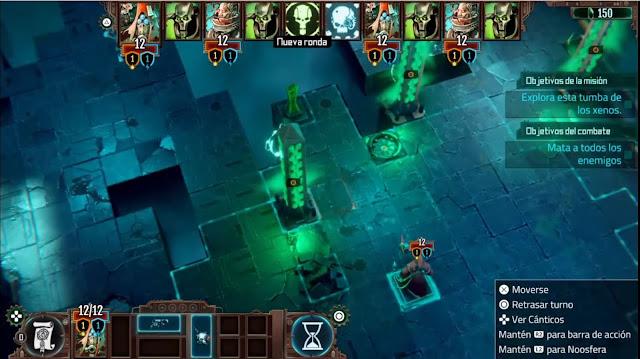 Warhammer 40000 Mechanicus - Gameplay