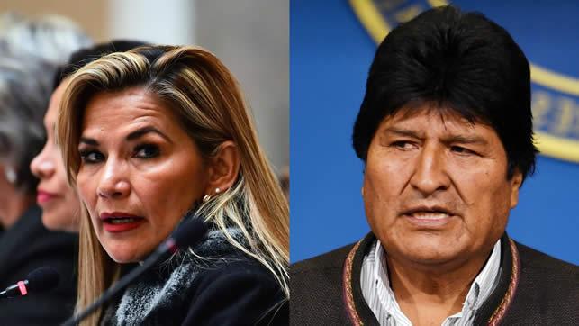 Jeanine Áñez: Mientras sea presidenta, la única manera en que Evo retornará a Bolivia es para dar la cara a la justicia