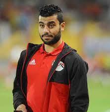 هداف الدوري المصري حسام حسن.
