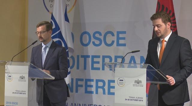 Albania assumes the OSCE chairmanship since January 1st
