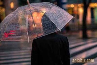 doa ketika turun hujan untuk pertama kali dengan lebat