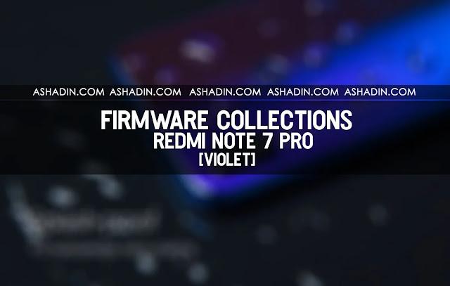 Firmware Fastboot Redmi Note 7 Pro Terbaru