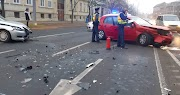 két személyautó karambolozott Debrecen belvárosában