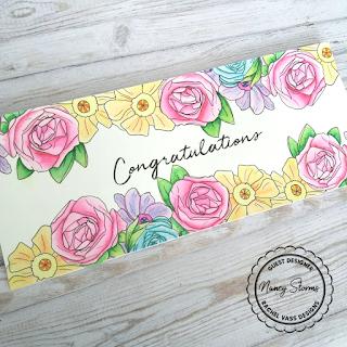 Rachel Vass Designs - Floral Border