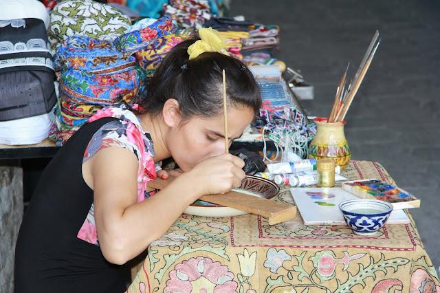 Ouzbékistan, Boukhara, Madina, miniatures, © L. Gigout, 2012