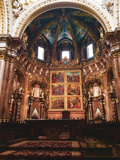 Interno della Cattedrale di Valencia