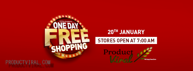 Central Brand New One Day FREE Shopping