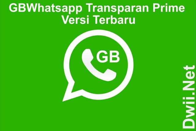 GBWhatsapp Transparan