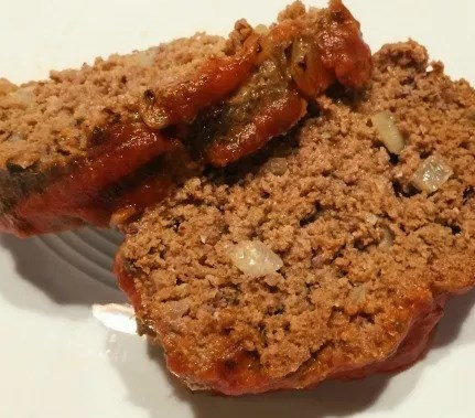 Easy Paleo Homestyle Meatloaf #diet #lowcarb