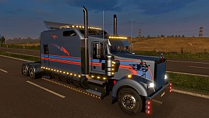 Kenworth W900 Long for 1.19 patch