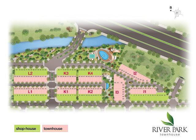 Mặt bằng tổng thể dự án River Park Quận 9