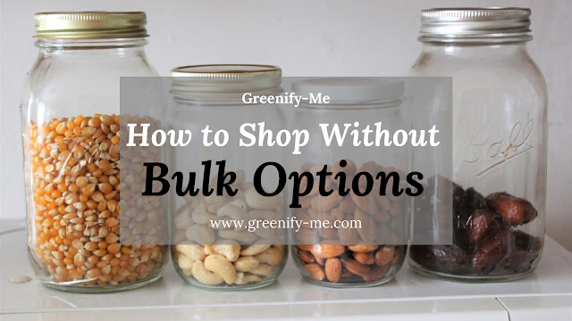 How to Shop Without Bulk Options