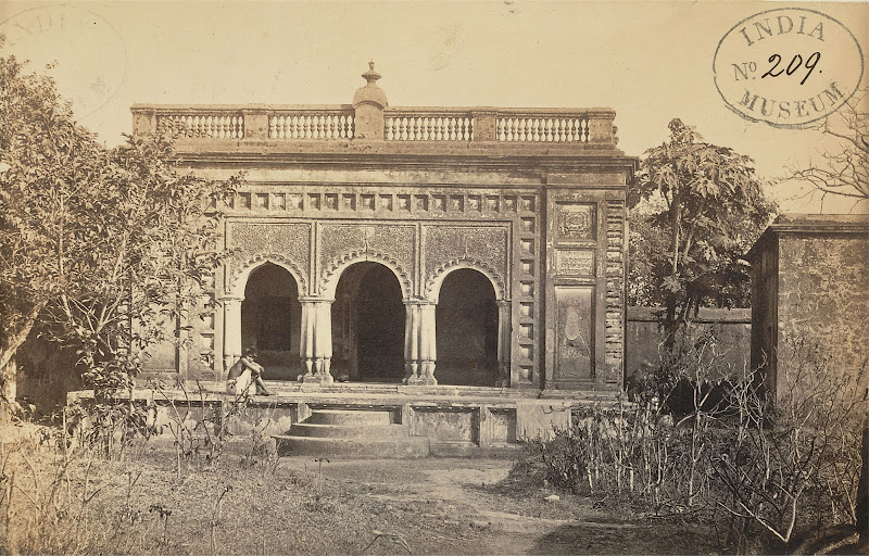 Flat-Roofed Hindu Temple near the Awasghar Temple, Midnapore, Bengal - 1869