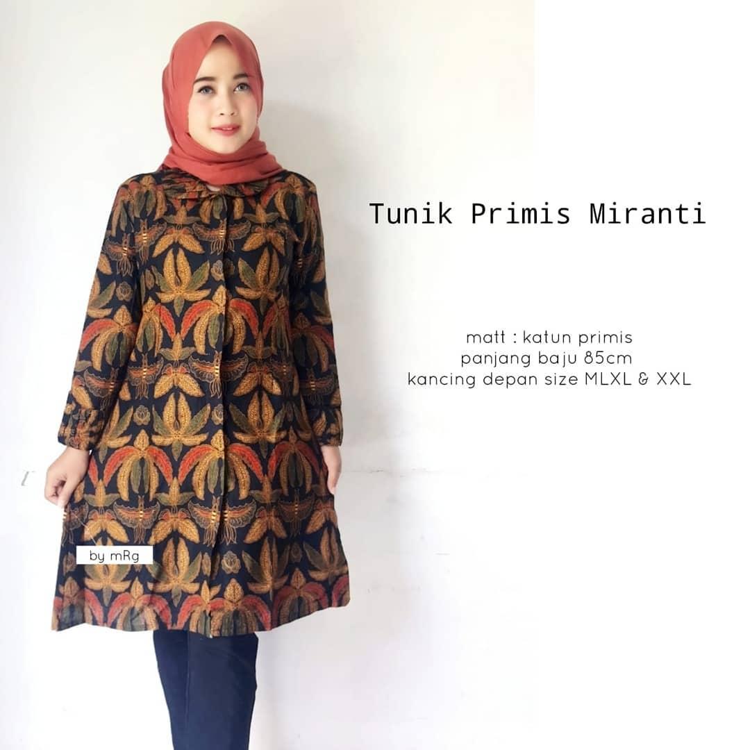 Top 19 Model Baju Batik Kerja Wanita Kantoran - Model ...