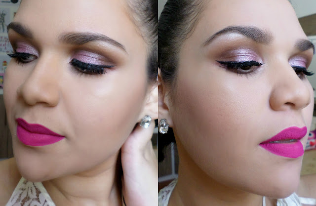Maquiagem Romântica para Noivas com tons de rosa