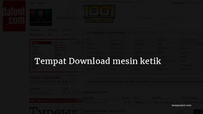 Tempat-Download-mesin-ketik