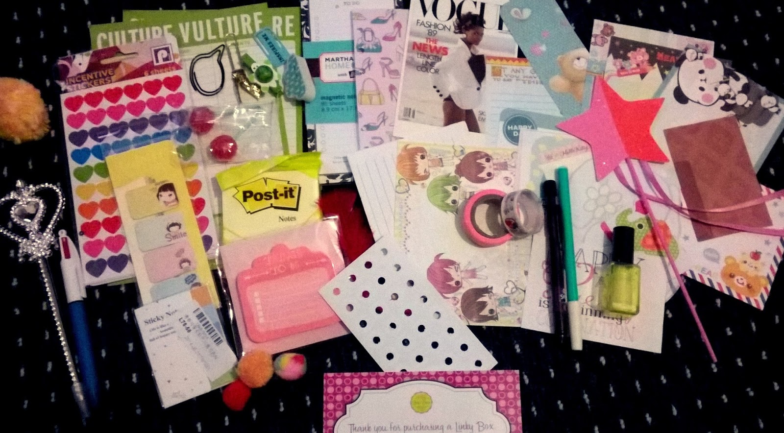 Linky's Dream - The BEST Monthly Stationery Box
