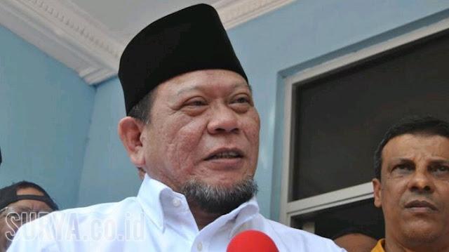 Kini La Nyalla Membantah Diminta Mahar oleh Prabowo