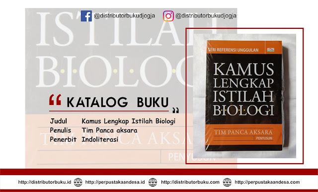Kamus Lengkap Istilah Biologi