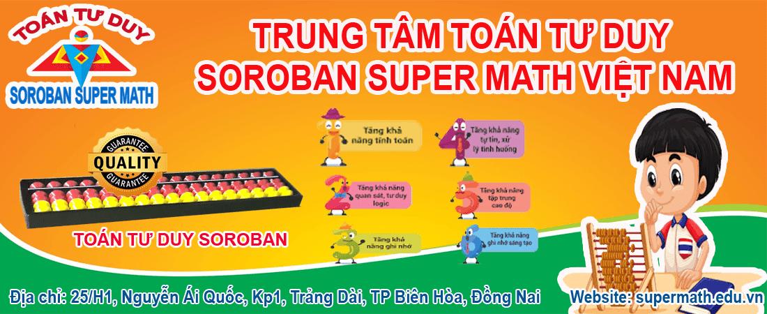 Đào tạo toán soroban tại Biên Hoà