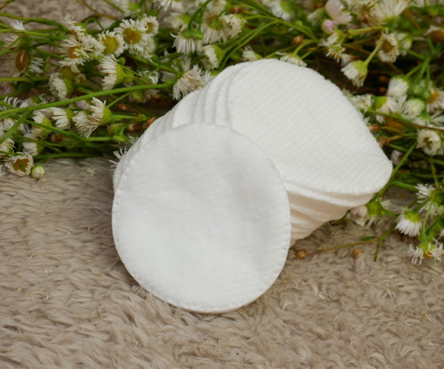 Wysokiej jakości bawełniane płatki kosmetyczne do demakijażu