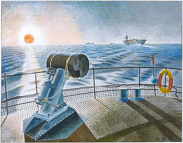 Eric Ravilious war ships