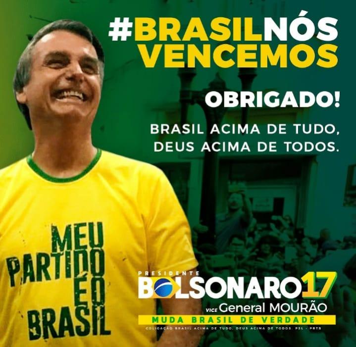 d1963ce7 ba54 48f7 8394 0bb0062fe44d - Bolsonaro venceu em todos Estados do Sul, Sudeste e Centro-Oeste