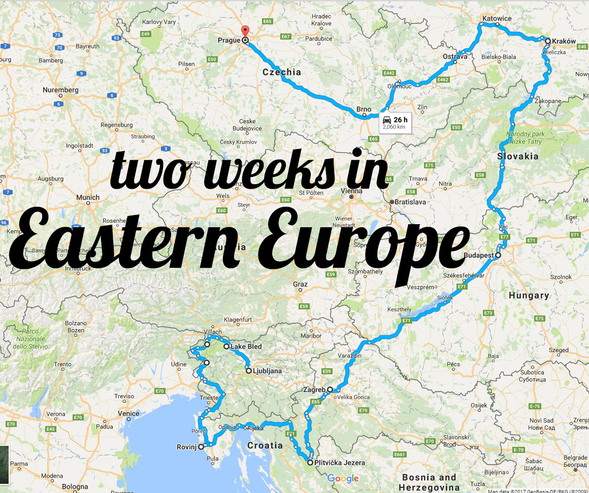 Europe Backpacking Trip Route Regreen Springfield