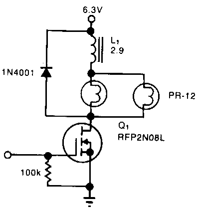 simple power consumption limiter circuit diagram
