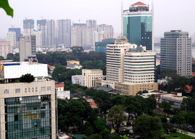 City views Shri Restaurant & Lounge in Ho Chi Minh City, Vietnam