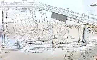 Proyecto de la plaza de Burtzeña fechado en 2007