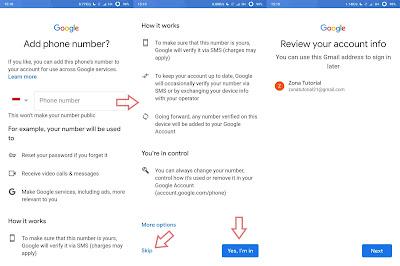Tutorial Cara Membuat Email Baru Di Hp Smartphone Android Mudah Terbaru
