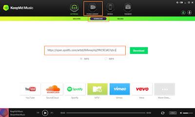 Screenshot KeepVid Music 8.2.6 Full Version